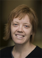 Professional shot of Caroline from RMIT website.
